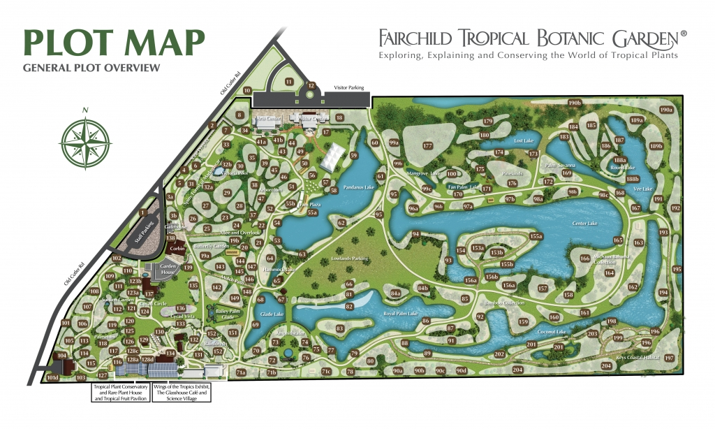 Fairchild Garden Plot Map