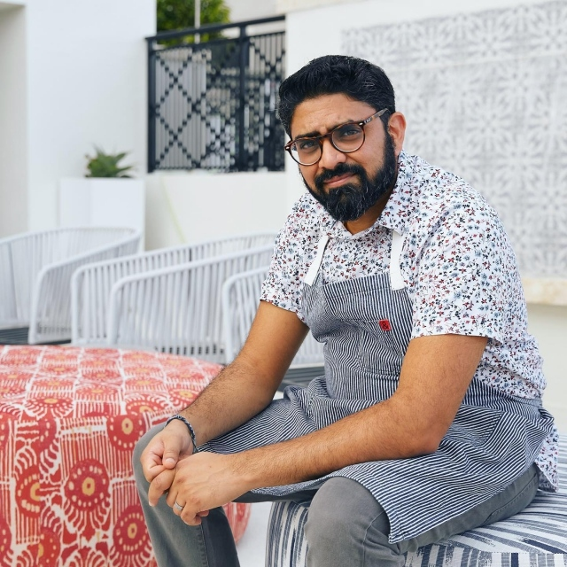"""This Saturday night, Eat. Drink.  Garden. presents, An Evening with Chef Niven Patel, one of Food & Wine's """"Best New Chefs"""" in 2020. As executive chef of the recently opened @mameymiami in the @thesishotelmiami in Coral Gables, Chef Patel will prepare a multi-course dining experience showcasing island-minded flavors and cuisine inspired by his travels through Asia, Polynesia and the Caribbean. Guests will have the opportunity to enjoy his culinary genius surrounded by a tropical oasis. . Limited seating- link in bio to purchase tickets . @chefniven #culinarygenius #mameymiami #thesishotelmiami"""