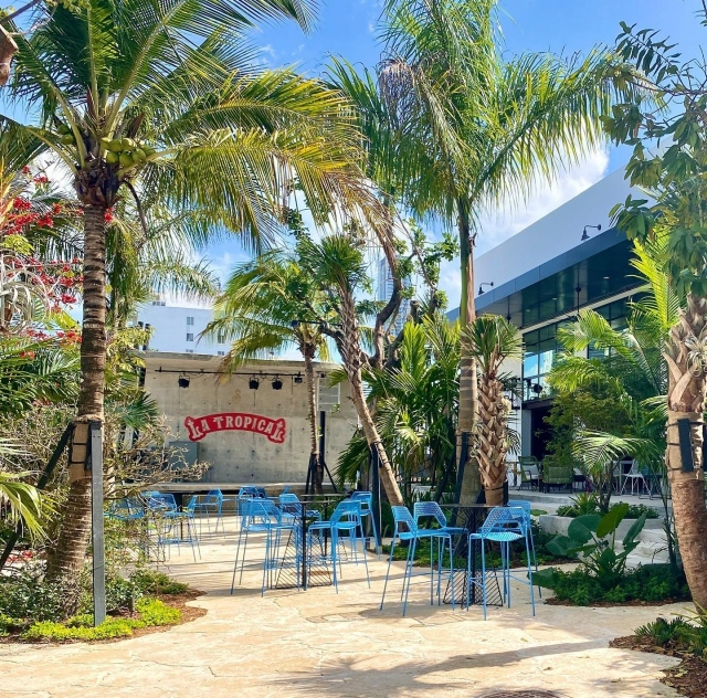 Join us this Thursday and Sunday to celebrate Earth Day at Cervecería La Tropical. 🌍 Fairchild has partnered with Cuba's oldest and Wynwood's newest brewery, @latropicalbeer , to create an immersive experience that celebrates the brewery's 10,000 square-foot outdoor garden as a lush, tropical oasis. The walls and trees have been covered in orchids by Fairchild's @millionorchidproject  and our scientists have created a smartphone-accessible tour of the spectacular plants through the installation of 50 QR- coded signs.  This Thursday April 22 and Sunday, April 25, come enjoy live music, brewery and garden tours, an orchid pop-up market, and the Million Orchid Project STEMLab. Link in bio for more information and to reserve a tour. . #fairchildtropicalgarden #miamisgarden #beautifulplaces